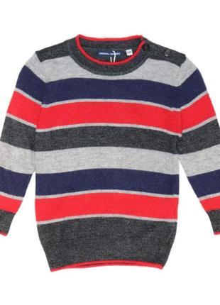 Новый свитер в полоску для мальчика, original marines, 0784