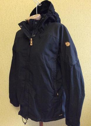 Куртка ветровка fjallraven wax g 1000 оригинал размер m-l