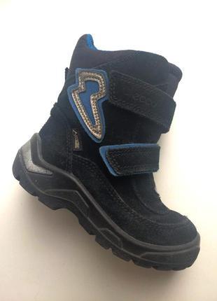 Зимние мембранные ботинки ecco