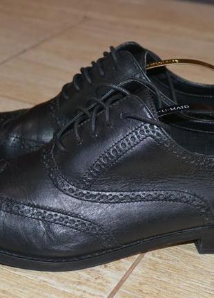 Cole haan 39-40р туфли оксфорды кожаные.