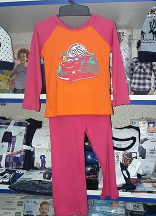 Новая хлопковая пижама на 2-3года 92-98см германия