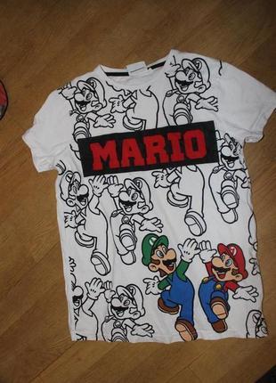 Стильна футболка mario
