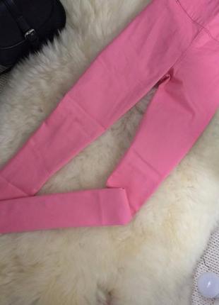 Красивые зефирные скинни джинсы очень высокая посадка завышенная талия с замочком