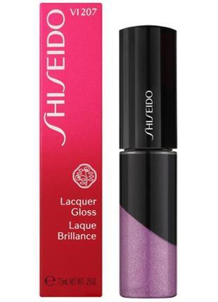 Блеск лак  shiseido lacquer gloss vi207 nebul