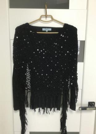 Шикарный свитер паетка