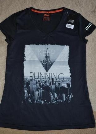 Новая футболка crivit, размер с-м.