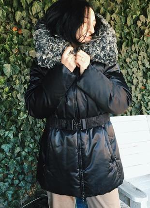 Пуховик зимний на пуху