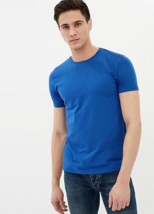 17-50 новая синяя мужская футболка, roly, испания размер м хлопок
