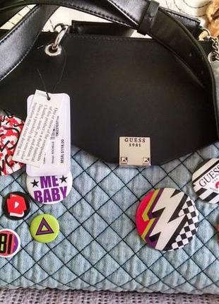Очень стильная сумка guess
