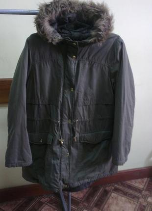 Женская парка/пальто george размер xxl