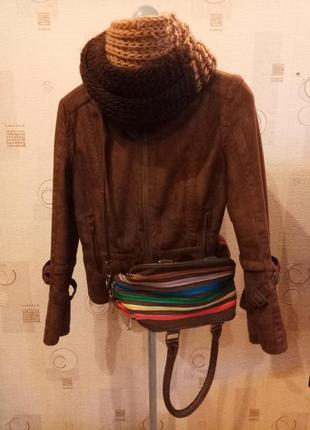 Женская зимняя куртка дубленка