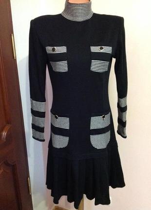 Трикотажное платье. /s/ brend ateiler