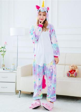 Пижама кигуруми «единорог звездный»