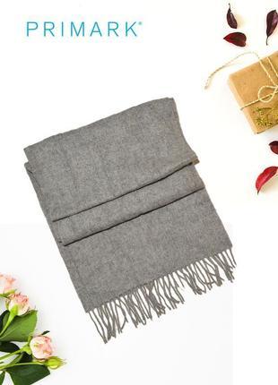 Серый шарф primark