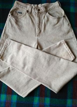 Шикарнейшие плотные джинсы lee, высокая посадка