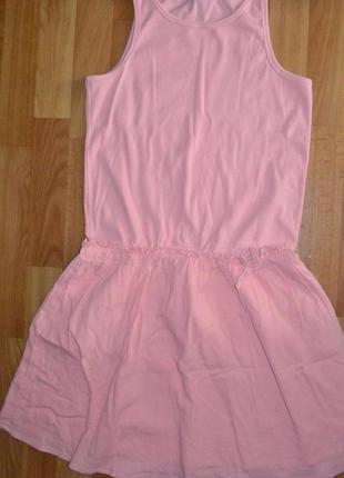 Платье майка под кеды спортивное george розовое пышная юбка пачка