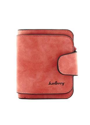 Женский бумажник  baellerry forever mini красный