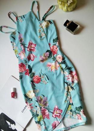 Платье в цветочный принт select