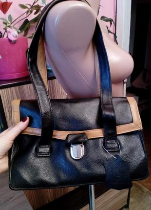 Натуральная кожа сумка английского бренда joshua tailor