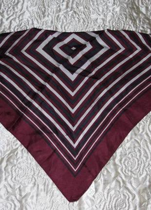 Мужской платочек на шею - bonita  51х49 - 100 шелк