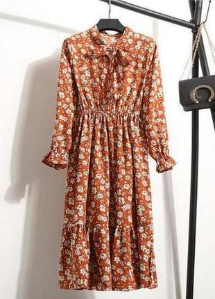 Новое цветочное платье, женственное и нежное