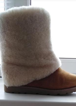 Ugg натуральный мех зимние сапоги ботинки женские