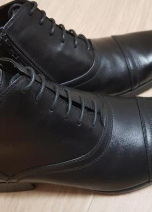Ботинки мужские, осень, натуральная кожа