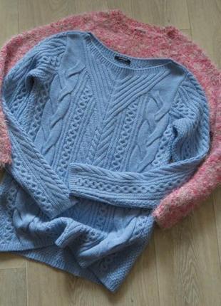 Кофта вязаная теплая свитер