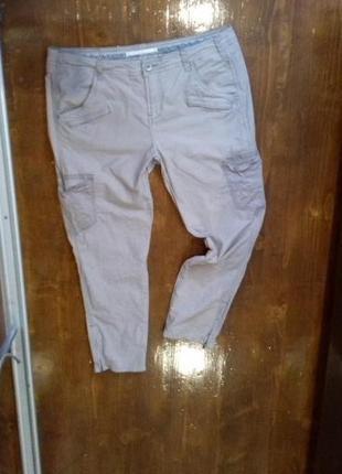 Комфортные укороченые брюки nile