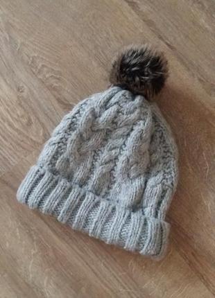 Тепла шапка h&m