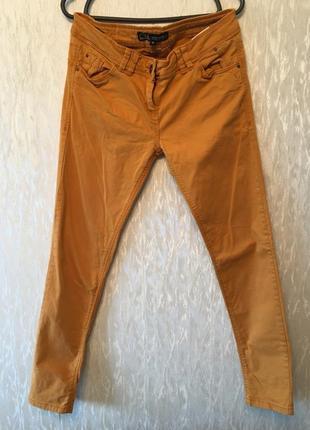 Оранжевые джинсы super skinny ckh clockhouse