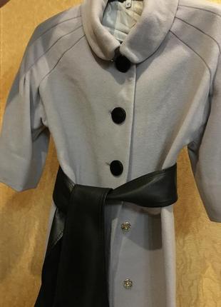 Классическое кашемировое пальто5 фото
