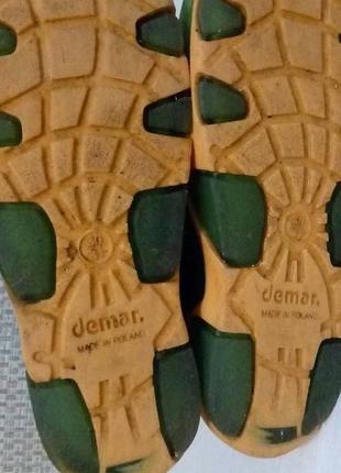 Demar stormer lux print. резиновые сапоги. размер 30-315