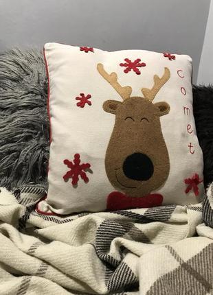 Наволочка на подушку новогодняя richmond house