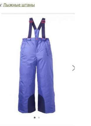 Лыжные штаны зимние штаны теплые штаны