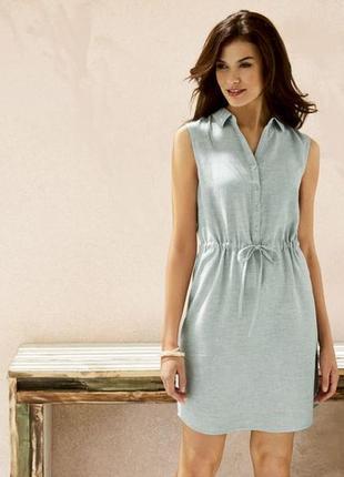 Платье-рубашка esmara лен