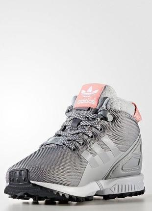 Зимнии ботинки adidas zx flux 5/8 trail by9063 размер 28-35