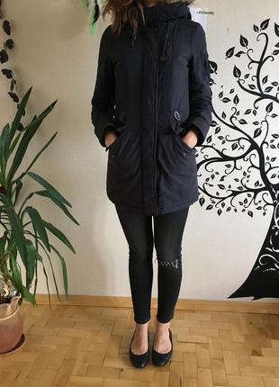 Зимняя куртка парка бренд new look