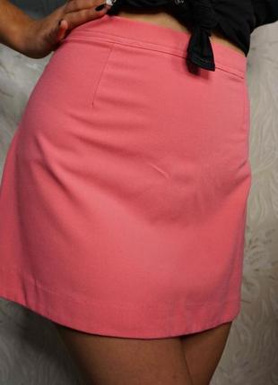 Розовая юбка boohod