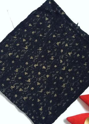 Очень красивая кружевная юбка мини guess
