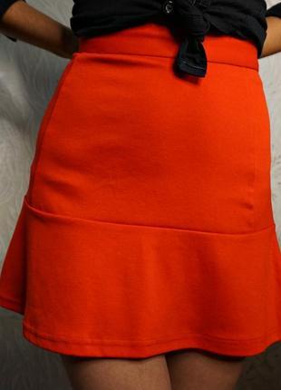 Красная юбка amisu