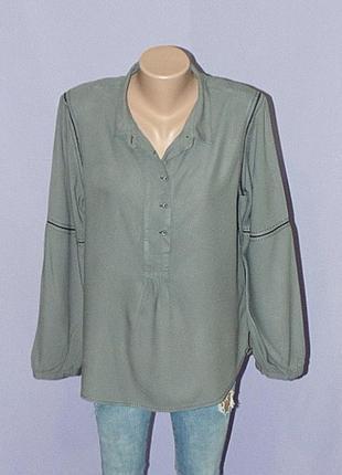 Фактурная серая блузочка white stuff