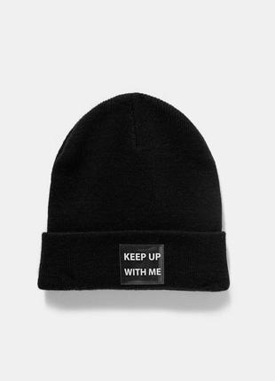 Модная шапка -бинни zara