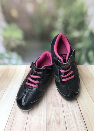 Модные детские кроссовки чёрного цвета