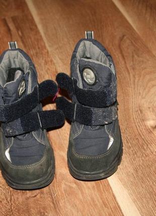 Теплые зимние сапожки ботинки на липучках gore tex по супер цене
