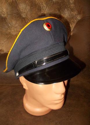 Фуражка кепка униформа albert kempf kg германия 58 размер