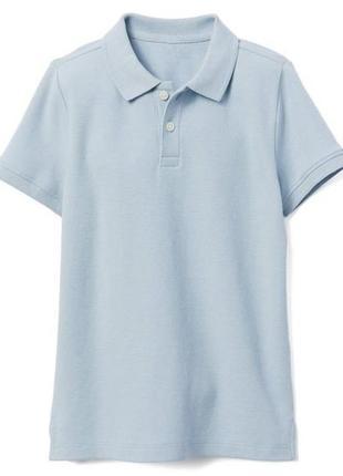 Футболка поло для мальчика 6-7 лет pique uniform gymboree