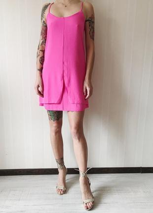 Короткое платье трапеция