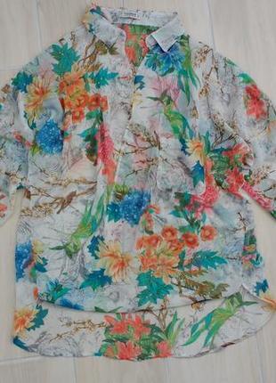 Р l-xl блуза на запах в стиле оверсайз !