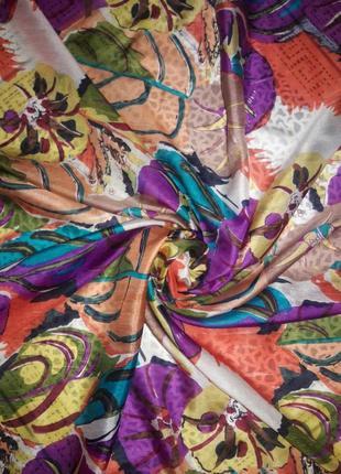 Большой шелковый платок шаль